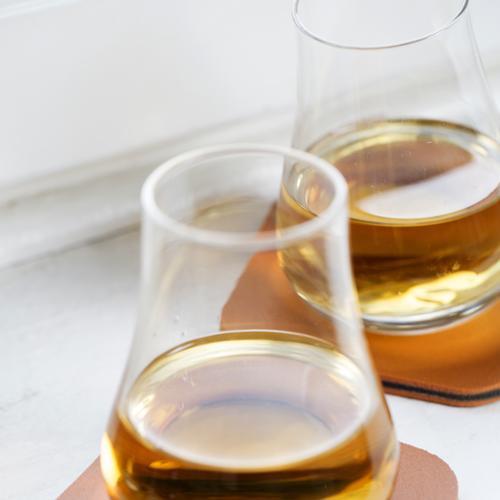Whiskey Tasting Set   Tumblers/Coasters   2 Pack   Sagaform