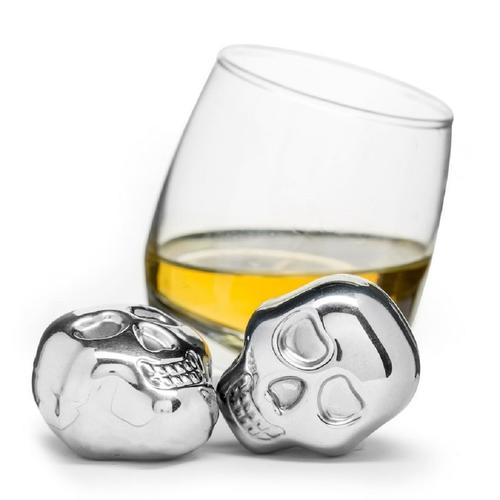 Skull Head Drink Stones | Set of 2