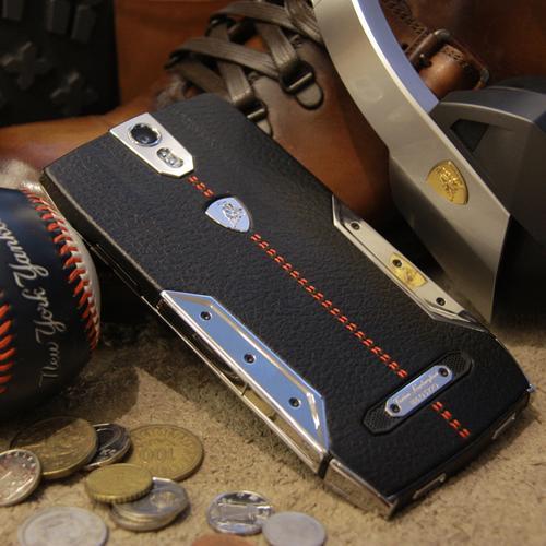 88 Tauri Smartphone | Black Leather | Steel