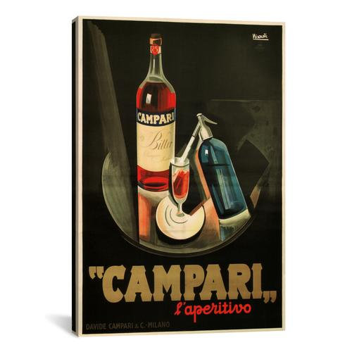 Campari Aperitivo Advertising Vintage Poster