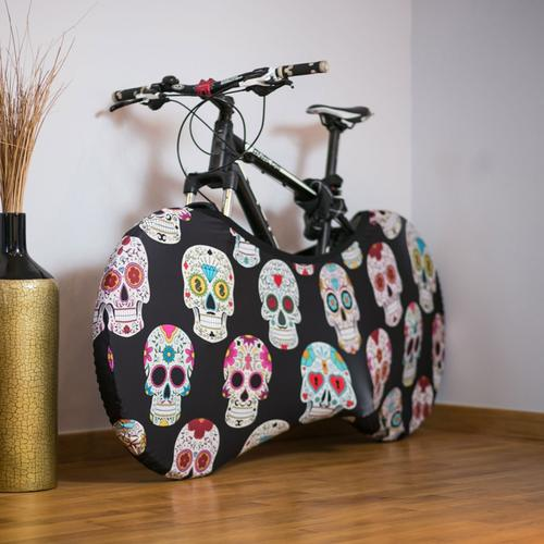 Skulls Bicycle Cover