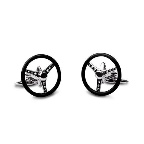 Nardi Torino Spinning Volante Cufflinks | GTO London