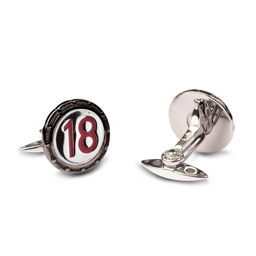 Racing Livery Number 18 Cufflinks
