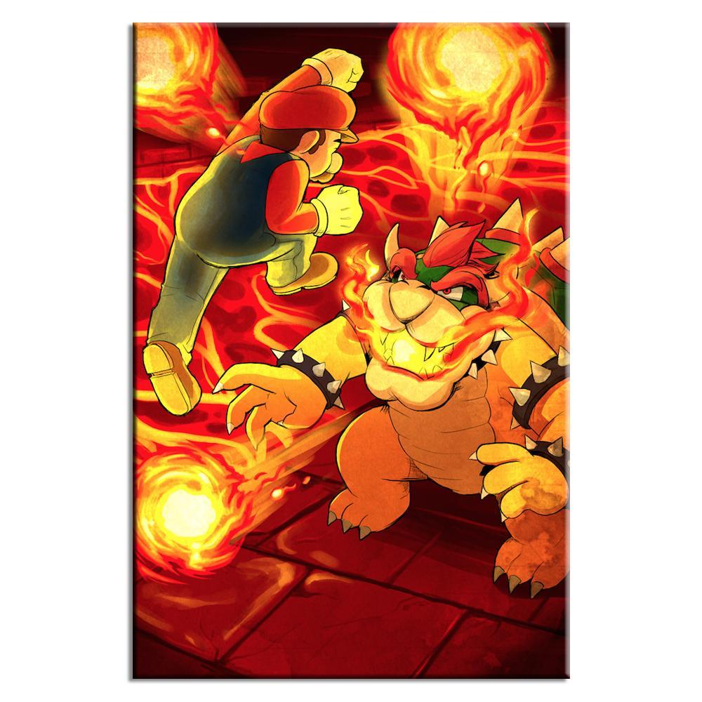 Fire Bridge Battle | Lynx Art