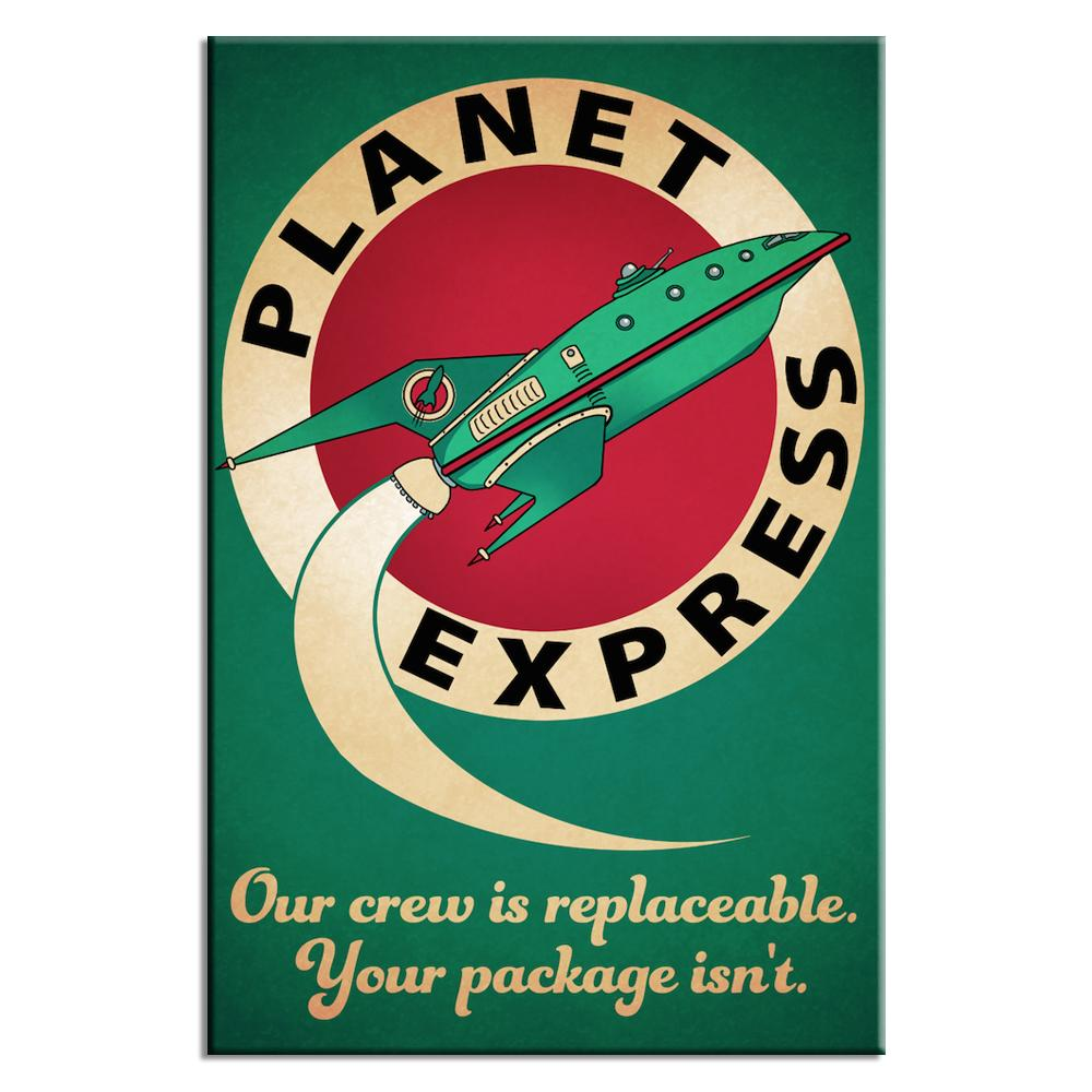 Our Crew Is Replaceable Your Package Isn T Poster