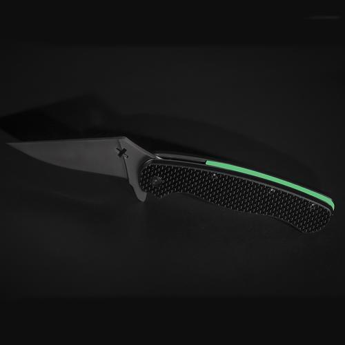 Glowing Knife   Black/Green