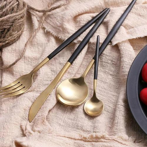 Ready to Serve | Gold & Black