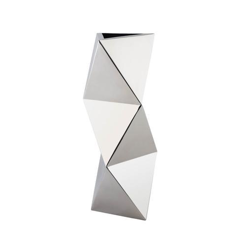 Stainless Steel   Geometric Shapes Vase