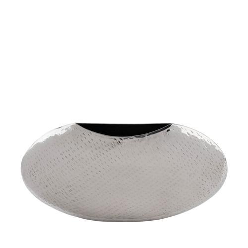 Stainless Steel   Wide cirular Vase