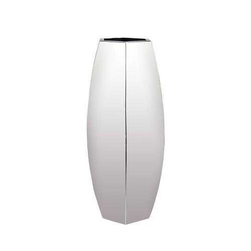Stainless Steel | Bud Hexagon Vase