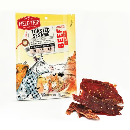 Beef Jerky | Toasted Sesame | Set of 9