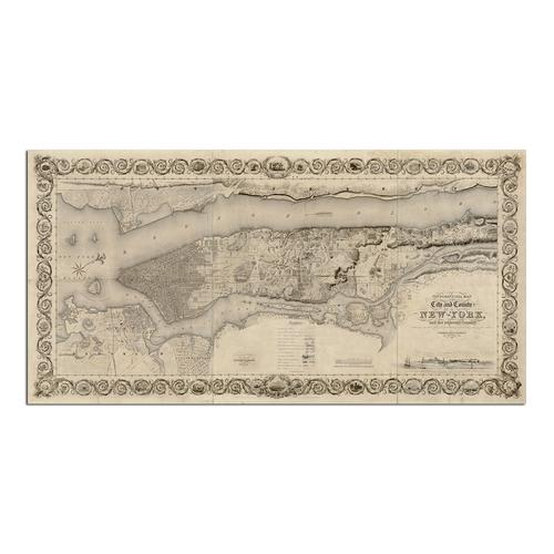 City and Country of New York | Paper
