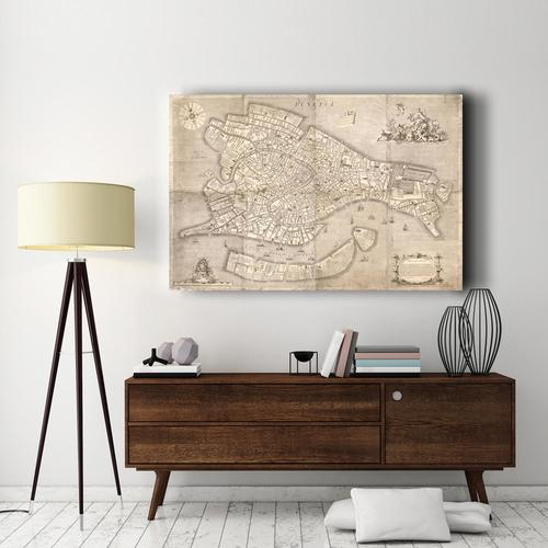 Plan City of the City of London | Canvas