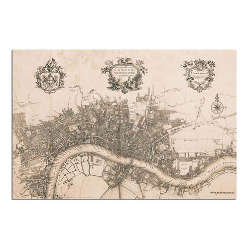 Plan of the City of London 172 | Paper