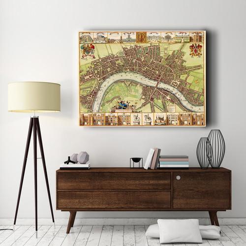 17th Century London | Canvas