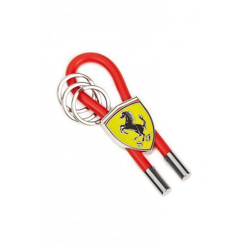 Scuderia Ferrari Rubber Strap Key Ring | Red