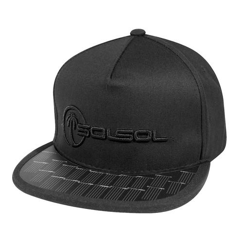 The Solar Charger Hat   Black