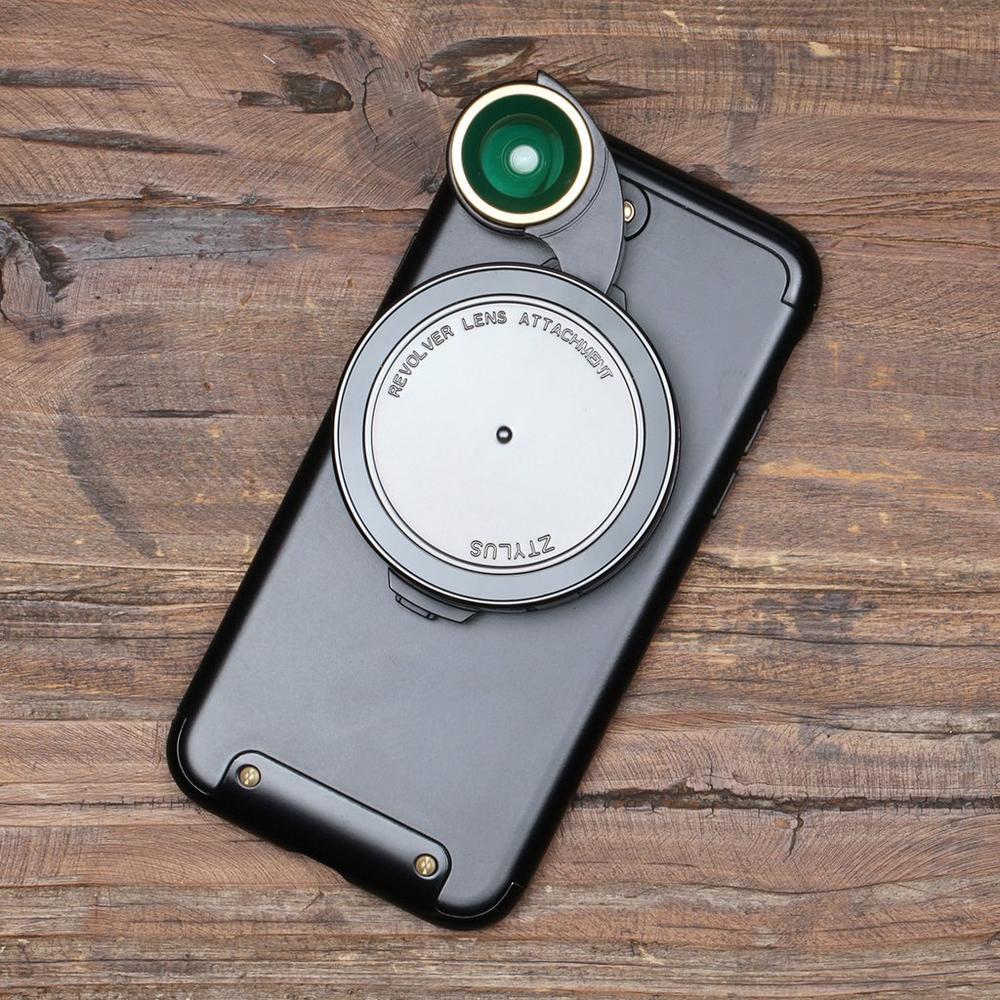 Ztylus Revolver Lens Kit for iPhone 7   Black   Ztylus