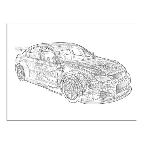 BTCC Proton | Paper