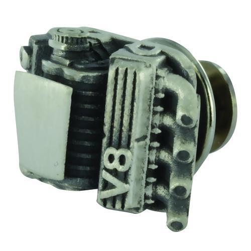 Lapel Button V8 Compressor