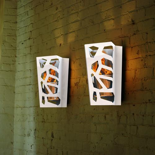 Vibe Sconce Bio Ethanol Wall Mounted Fireburner | Decorpro