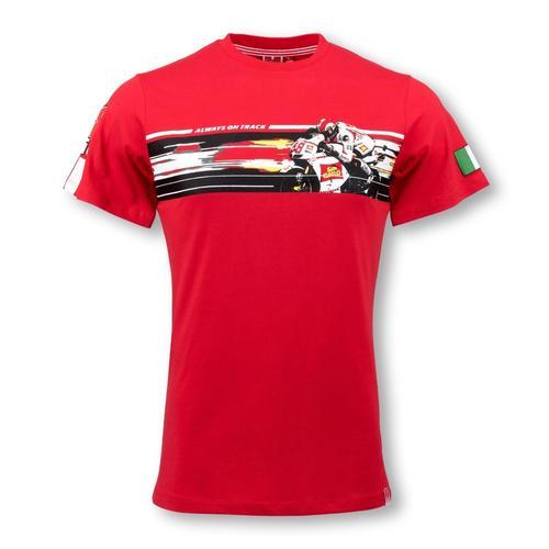 Marco Simoncelli Action T-shirt | Moto GP Apparel