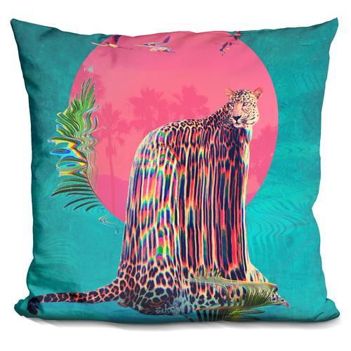 'Jaguar' Throw Pillow