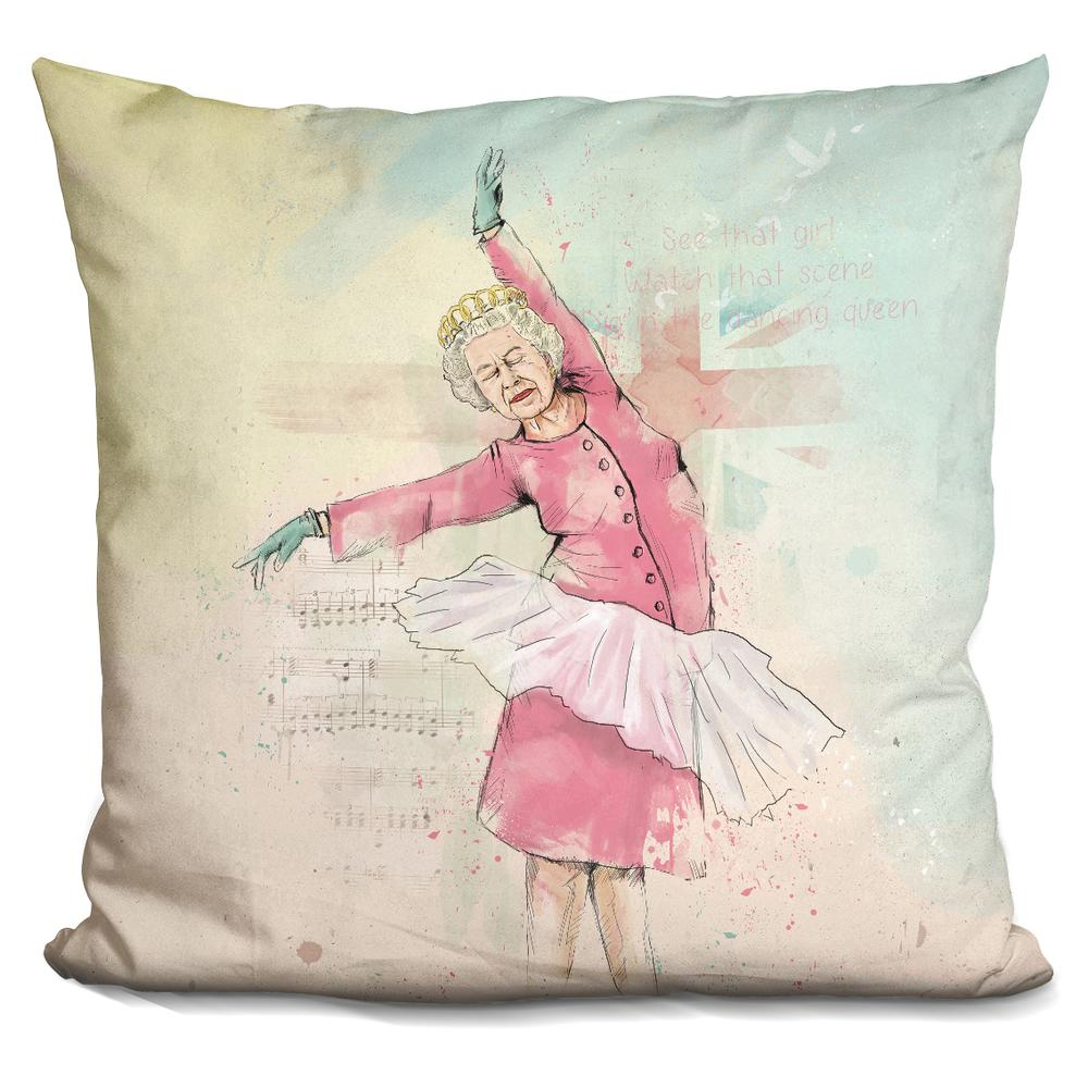 Balazs Solti Dancing queen Throw Pillow