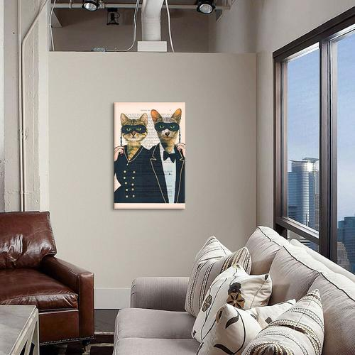 Vintage Paper Series: Party Cats