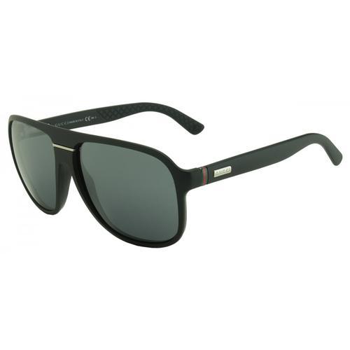 Matte Black Aviator Men's Sunglasses