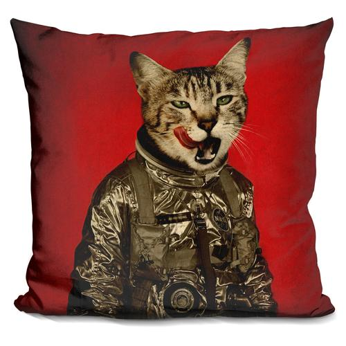 Durro Art 'Space tastes good' Throw Pillow