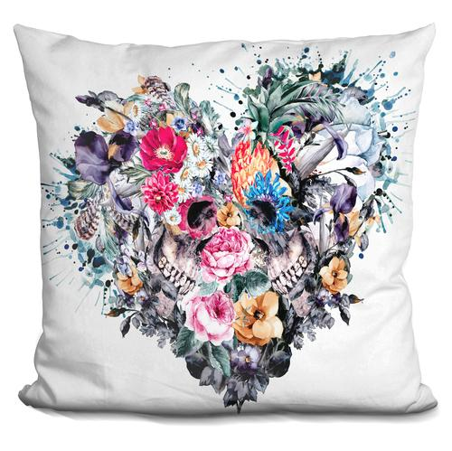Riza Peker 'Love Forever' Throw Pillow