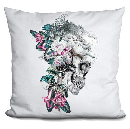 Riza Peker 'Momento Mori RV' Throw Pillow