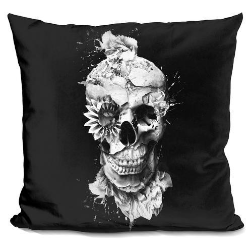 Riza Peker 'Skeleton' Throw Pillow