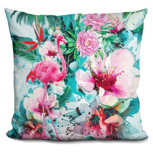 Riza Peker 'Tropical Life' Throw Pillow