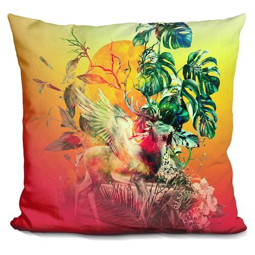 Riza Peker 'DEER VII' Throw Pillow