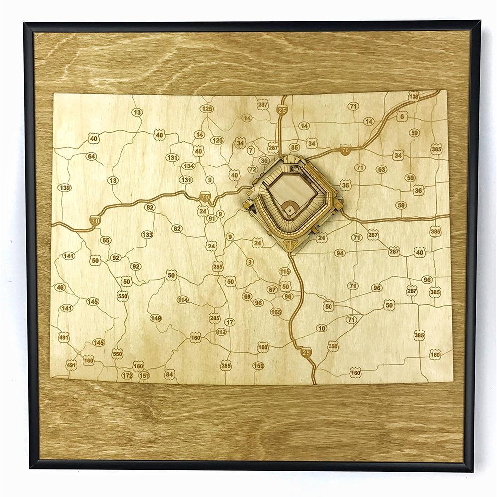 3D Stadium Maps   Colorado, Denver (Coors Field)