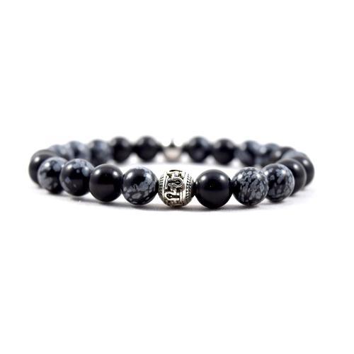 Omega Black Snow Bracelet