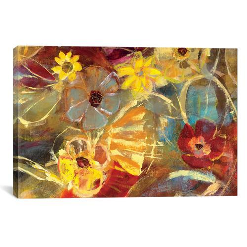 Chalkboard Flowers II