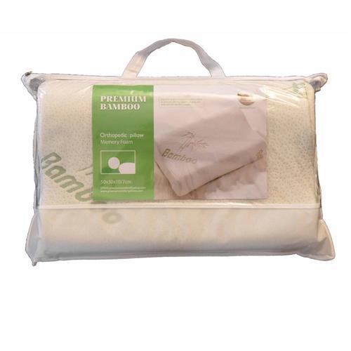 Orthopedic Memory Foam Bamboo Derived Rayon Contour Pillow