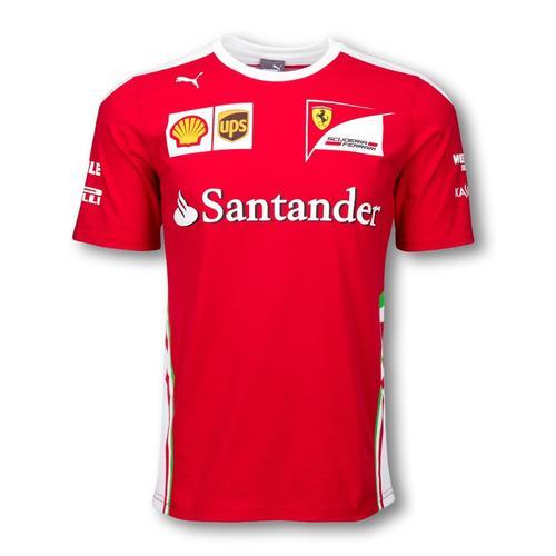 Scuderia Ferrari Team T-Shirt Mens 2016 Replica