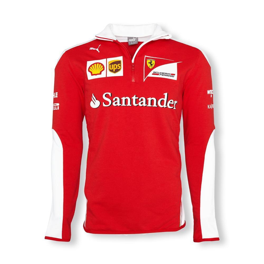 Scuderia Ferrari Team Half Zip Fleece Mens 2016 | Motorstore
