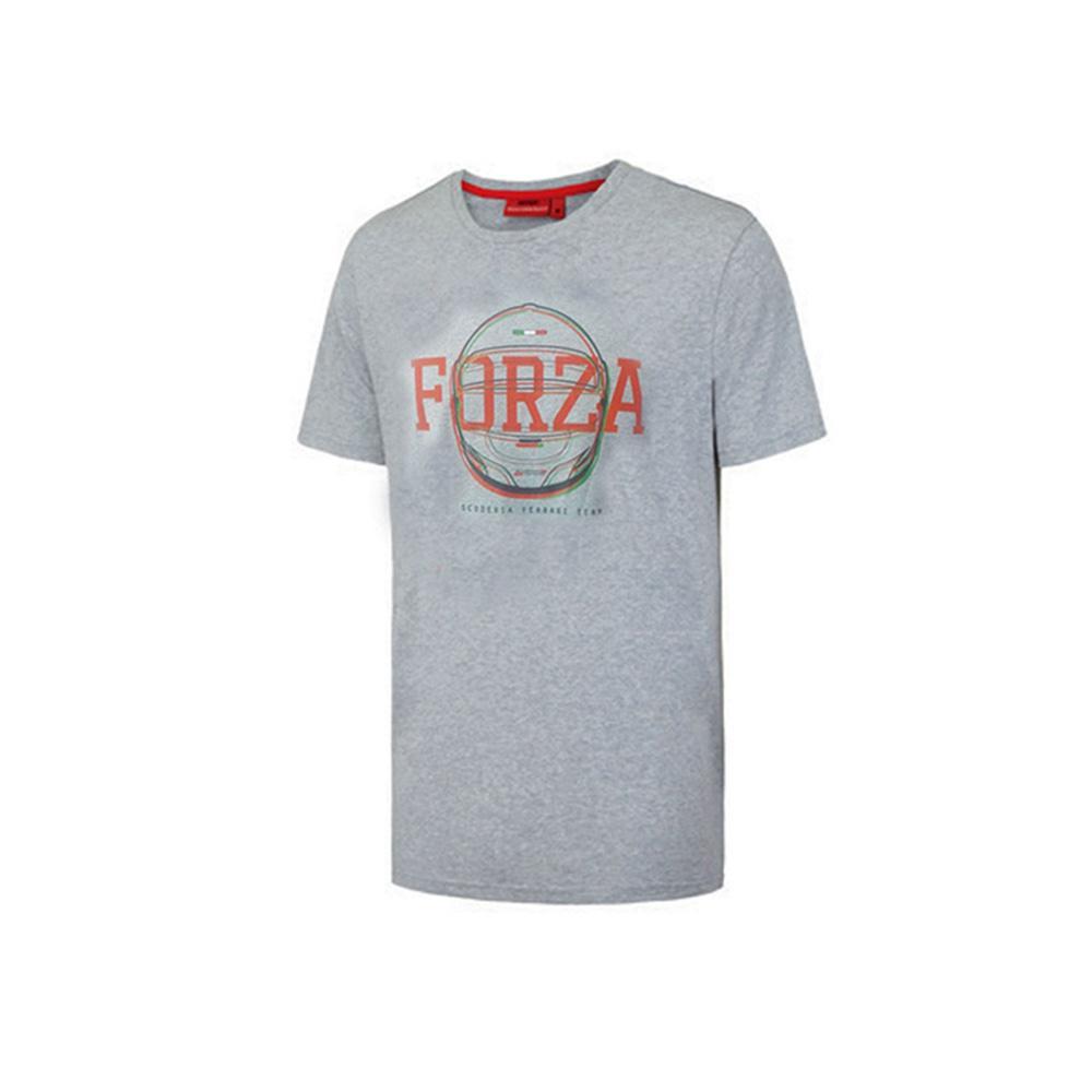 Scuderia Ferrari Forza Helmet Graphic T-Shirt | Motorstore