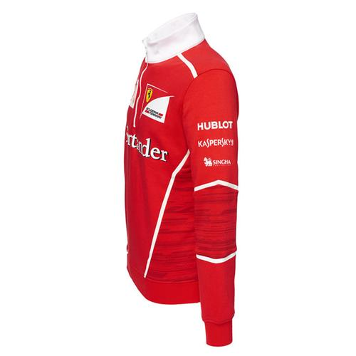 Scuderia Ferrari Team Half Zip Fleece 2017 | Motorstore