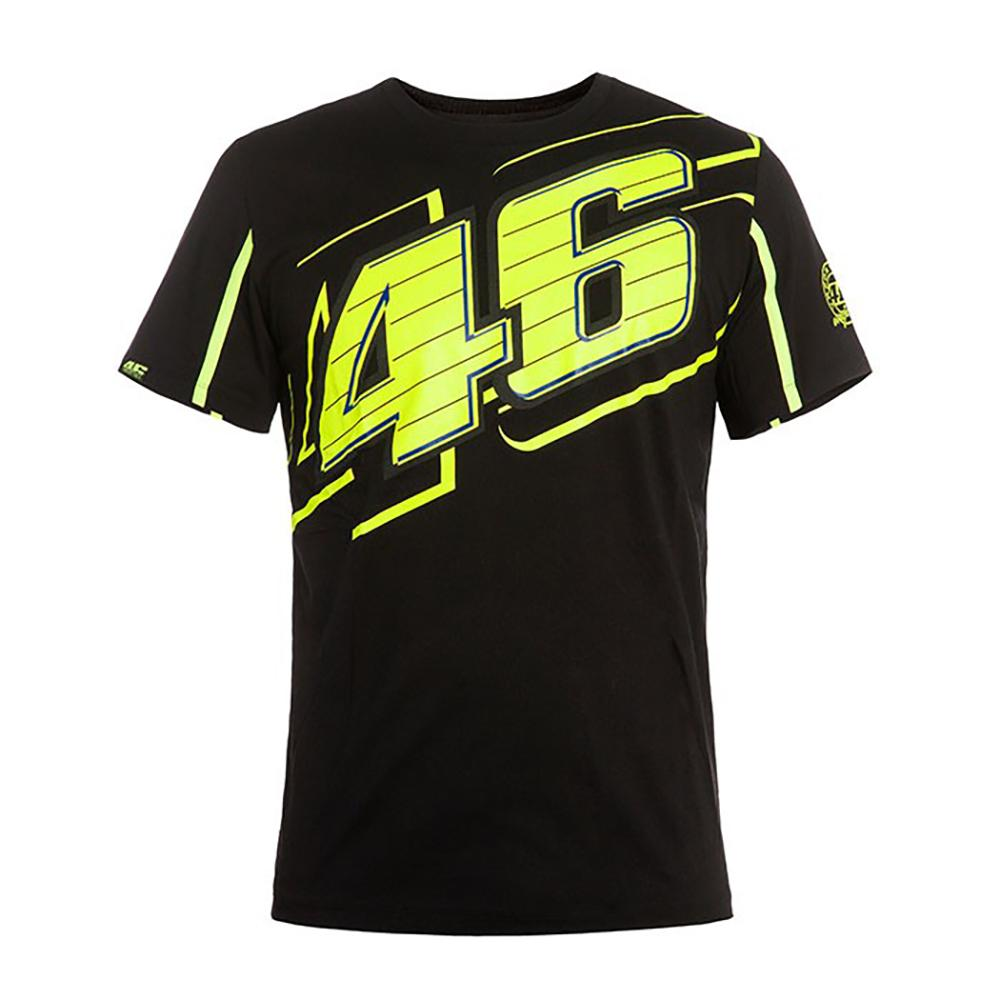 VALENTIO ROSSI BLACK T-SHIRT MENS | Moto GP Apparel
