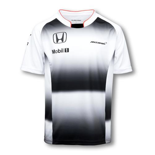 MCLAREN HONDA TEAM T-SHIRT KIDS 2016 REPLICA