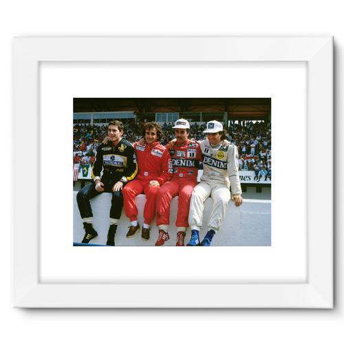 1986 Portuguese Grand Prix Championship Contenders   White