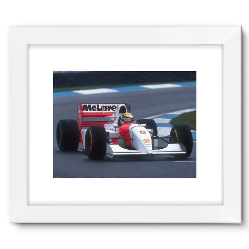 Ayrton Senna, 1993 European Grand Prix | White